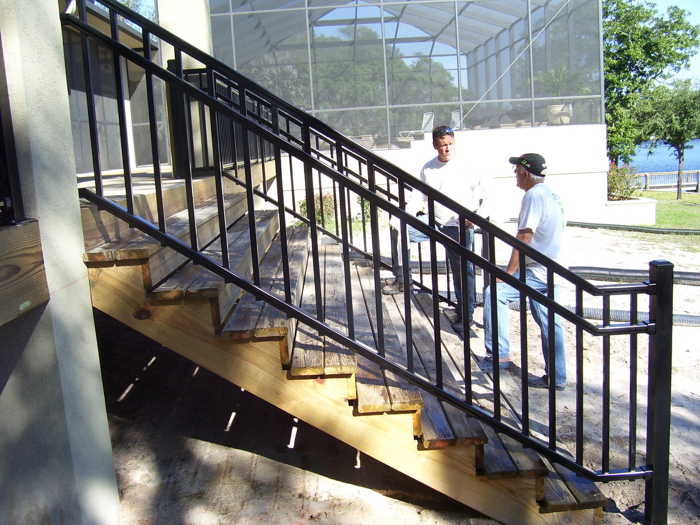 See our beautifully handcrafted ironwork, balcony railings